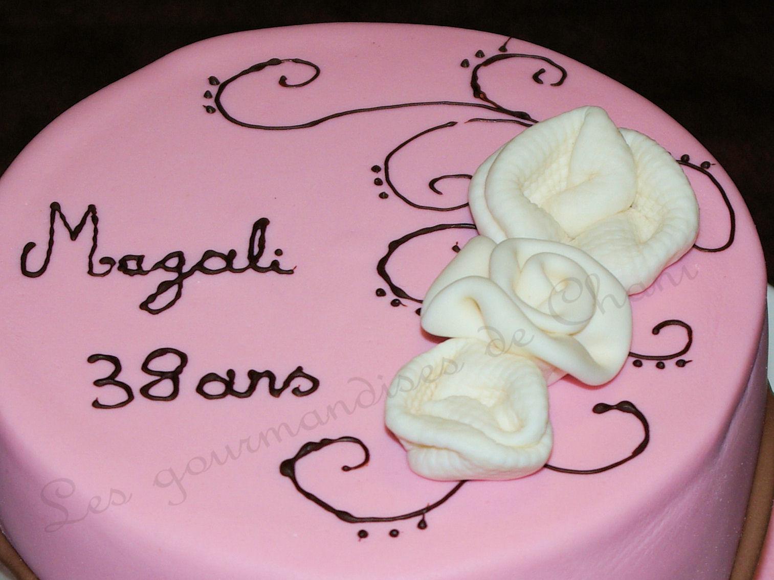 Anniversaire En Rose Les Gourmandises De Chani