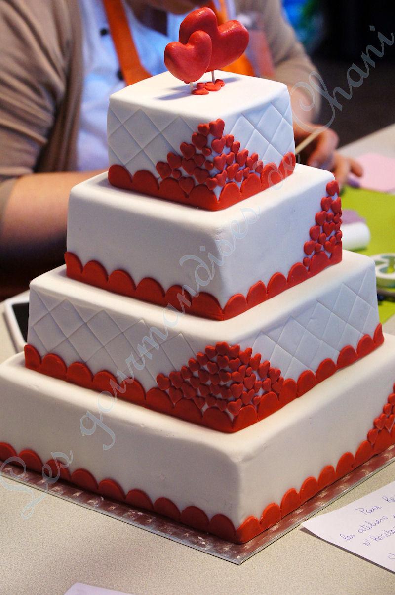 comment décorer un wedding cake