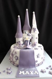 Gâteau château Hello Kitty de Dita