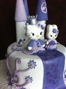 Chateau Hello Kitty pour les 6 ans d'Emilie