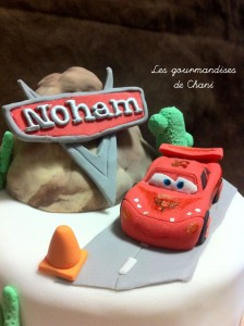 Gateau Cars Mc Queen