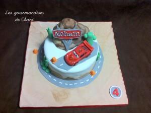 Gâteau Cars 3