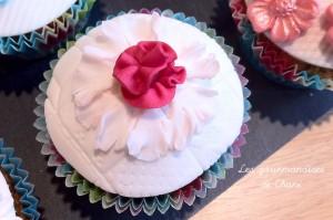 Cupcake fleuri 1