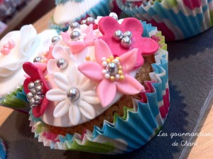 Cupcake fleuri 3