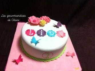 Gâteau fleuri rose violet anis turquoise 2_1