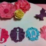 Gâteau fleuri rose violet anis turquoise 2_3