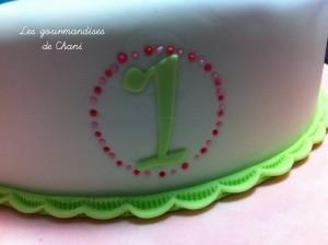 Gâteau fleuri rose violet anis turquoise 2_4