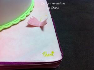 Gâteau fleuri rose violet anis turquoise 2_7