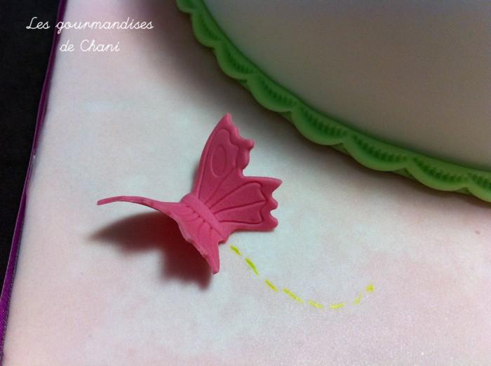 Gâteau fleuri rose violet anis turquoise 2_8