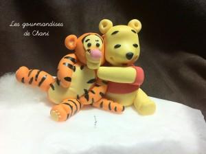 modelage Winnie et Tigrou 2