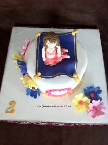 gâteau danseuse orientale
