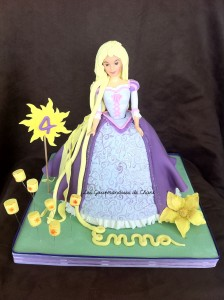 Gâteau Raiponce